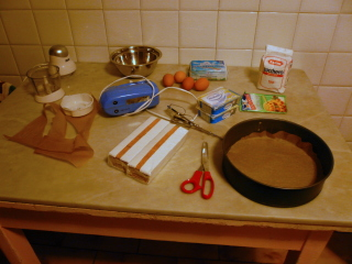 Ingredienti per Cheese Cake