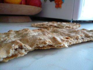 sezione di pane azzimo