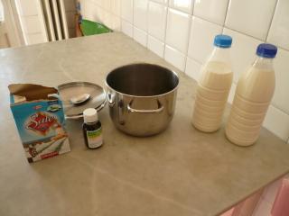 Ingredienti per fare il Raviggiolo